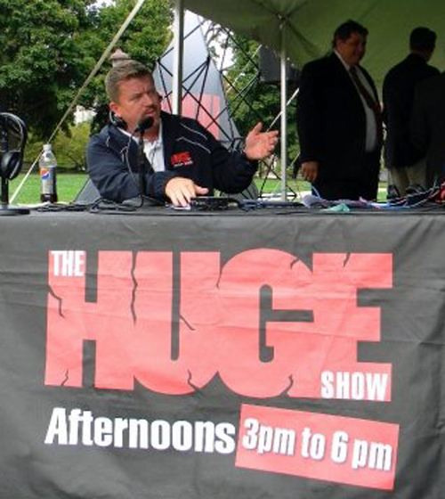 Bill Simonson, Host of The HUGE Show